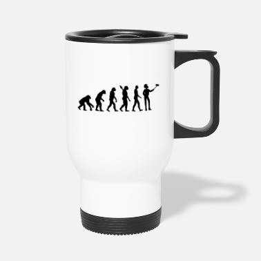 Evolutionary History evolutionary theory with selfmade photo - Travel Mug