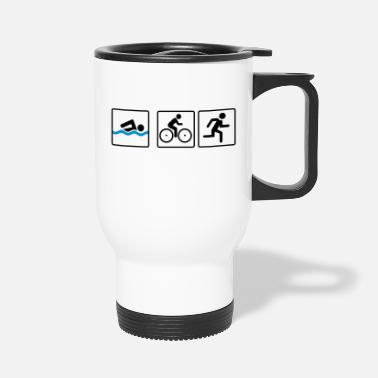 Triathlon triathlon - Travel Mug