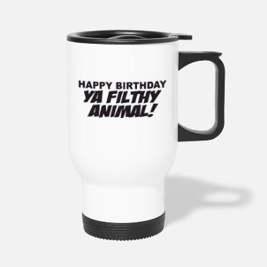 B Day happy b day - Travel Mug