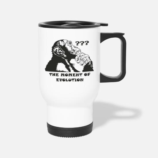 Evolution Mugs & Drinkware - Evolution - Travel Mug white