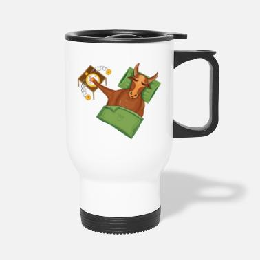 Handraft Taurus|Add Text|Text examples in the description! - Travel Mug