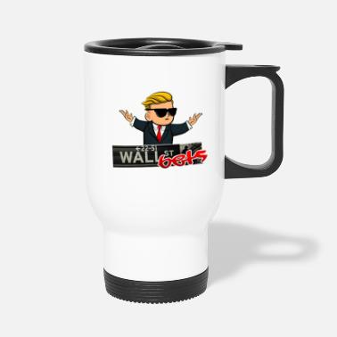 Wall walls - Travel Mug