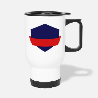 Coat coat banner - Travel Mug