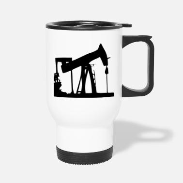 Oil oil rig - Travel Mug