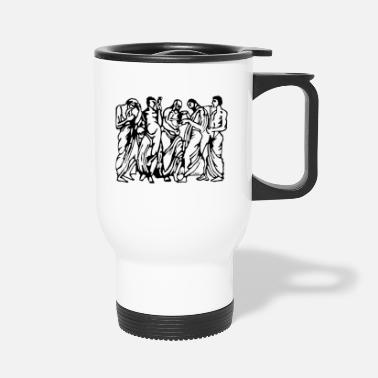 Greek Greek - Travel Mug