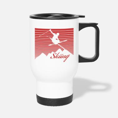 Alps Alps Ski - Travel Mug
