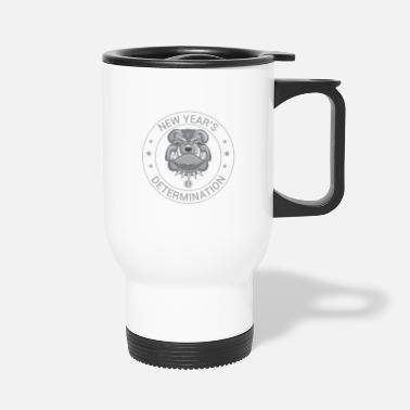 New Year's Determination - Travel Mug