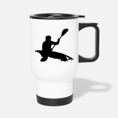 Whitewater Kayaking Whitewater kayaking - Travel Mug
