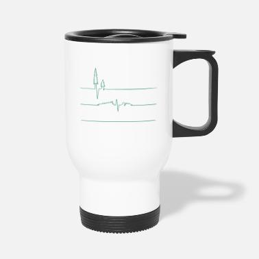 Monitoring Earth s Heart Monitor - Travel Mug