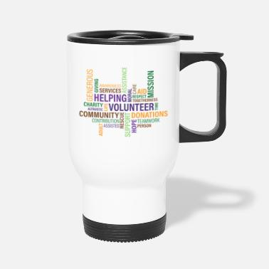 Word words - Travel Mug