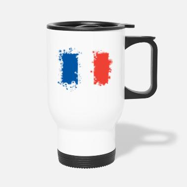 France France flag, France flag, France - Travel Mug