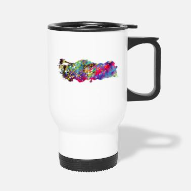 Map Turkey map - Travel Mug