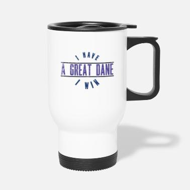 Mummy Dogs Great Dane Security Pets Humor Owner Gift - Travel Mug