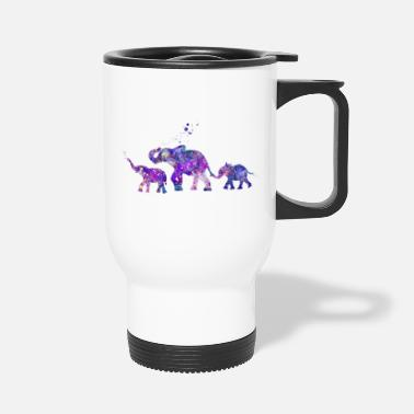 Siblings Elephant Siblings - Travel Mug