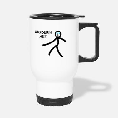 Modern Art - Travel Mug