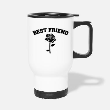 Best Friend And Best Friend - Travel Mug