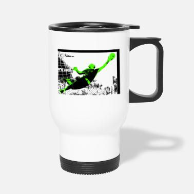 Kicker Goalkeeper kicker - Travel Mug
