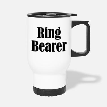 Wedding Day Ring Bearer, Wedding Ring, Wedding Day - Travel Mug