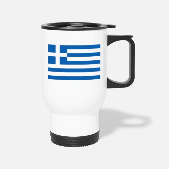 Love Mugs & Drinkware - greece - Travel Mug white