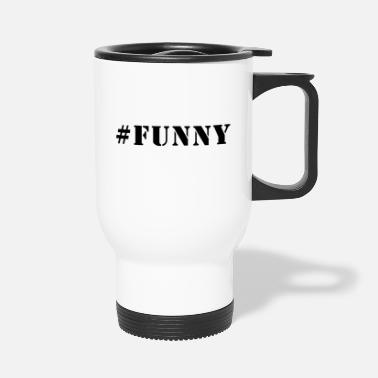 70th Birthday Hashtag #Funny Shirt Gift Tee - Travel Mug