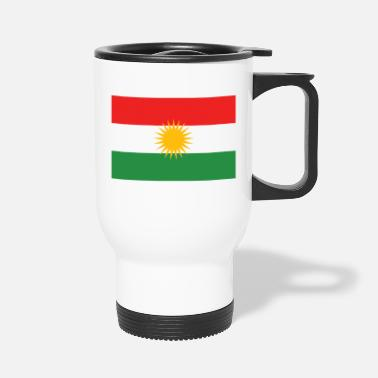 Kurdish Flag - Travel Mug