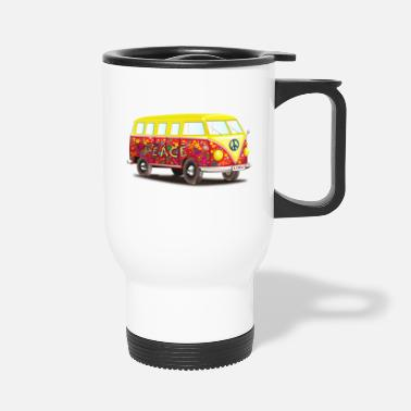 Hippie hippie - Travel Mug