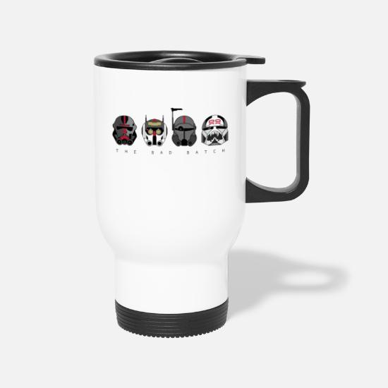 Yoda Mugs & Drinkware - The Bad Batch | Geekdom Series | DopeyArt - Travel Mug white