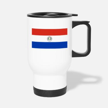 Banderas Flag of Paraguay - Travel Mug