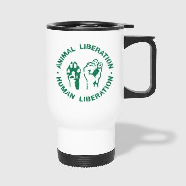 animal rights - Travel Mug