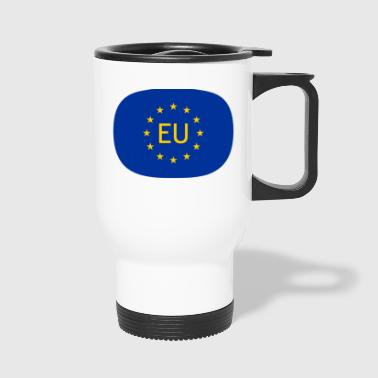 VJocys European Union EU - Travel Mug