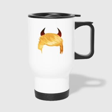 Devil Devil Horns Trump - Travel Mug