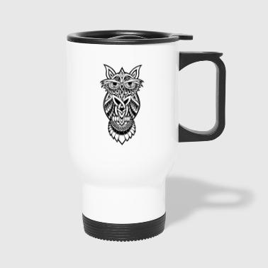 Owl The Nocturnal - Travel Mug