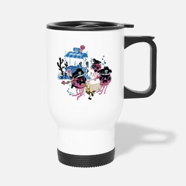 Under Water Under Water Criminal - Travel Mug