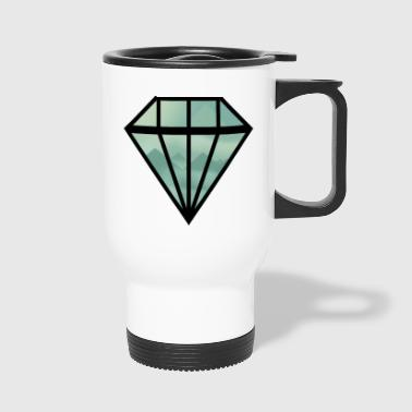 Black Indie Diamond - Travel Mug