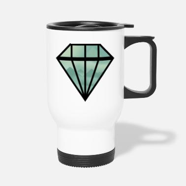 Indie Black Indie Diamond - Travel Mug
