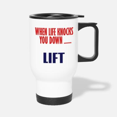 Lift Elevator lift - Travel Mug