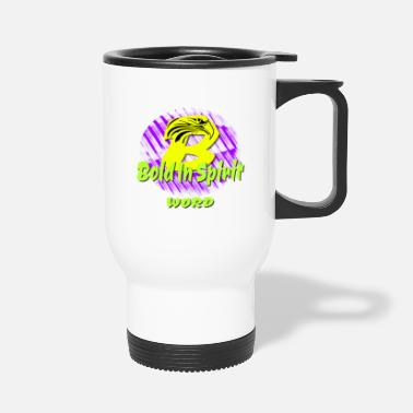 Bold In Spirit with Eagle - Travel Mug