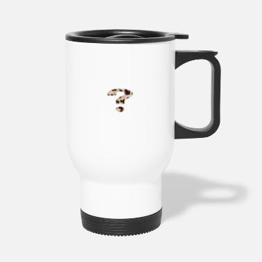 Mark-something question mark - Travel Mug