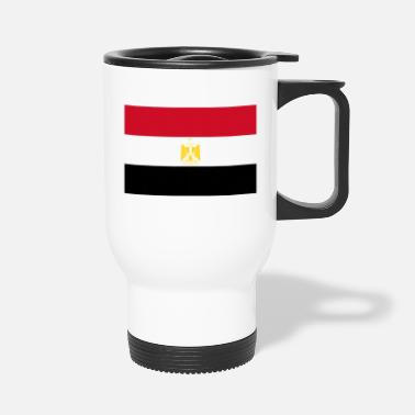 Egypt Egypt country flag love my land patriot - Travel Mug