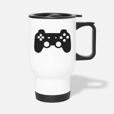 Game Controller Game Pad Gaming Symbol Icon Gift - Travel Mug