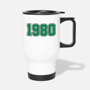 Year Of Birth 1980 | Birth Year | Anniversary | Birthday | Year - Travel Mug