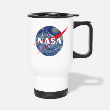 Night NASA starry night - Travel Mug