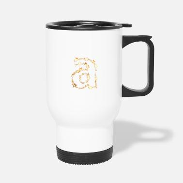 Alphabet alphabet a - Travel Mug