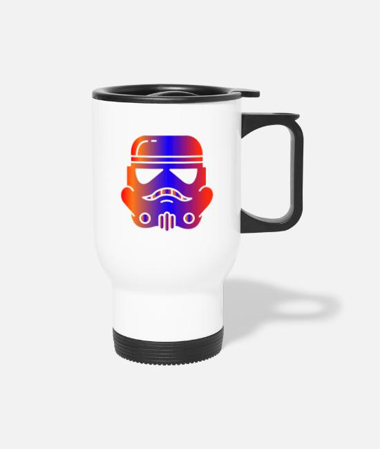 Stormtrooper Mugs & Cups - Trooper - Travel Mug white