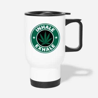 Inhale Inhale Exhale - Travel Mug