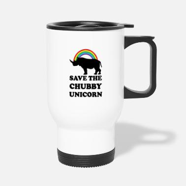 Chubby Unicorn Chubby Unicorns - Travel Mug