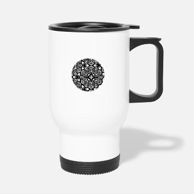 Stylish A stylish cool pattern Design - Travel Mug