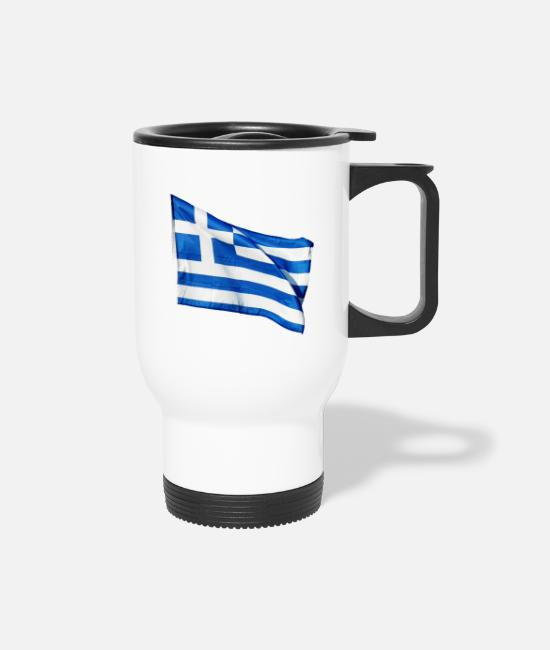 Greece Mugs & Drinkware - Greece - Travel Mug white