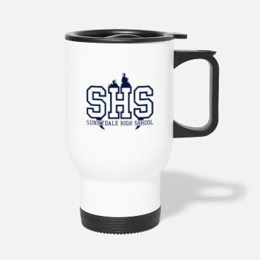 Sunnydale High School logo merch - Travel Mug