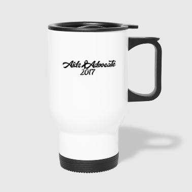 Aids Advocate logo - Travel Mug